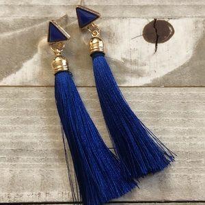 🖤3 for $15🖤 Blue tassel fashion earrings